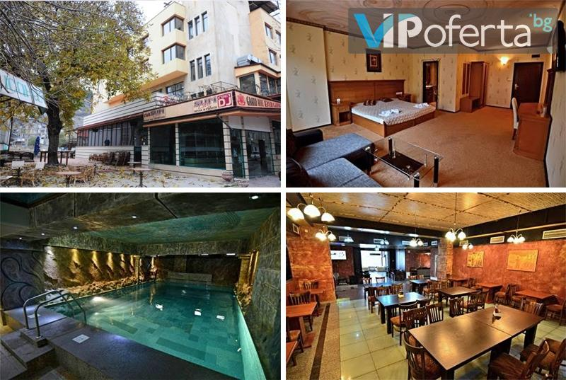 Двудневен и тридневен делничен пакет със закуски и вечери + масажи в Хотел България, Велинград