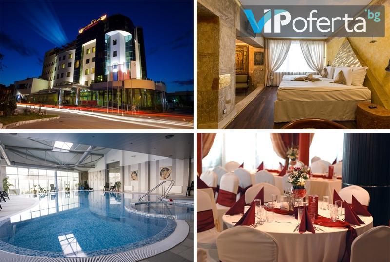 Еднодневен и двудневен пакет със закуски + романтична вечеря и комплимент + СПА в DIPLOMAT PLAZA Hotel & Resort****