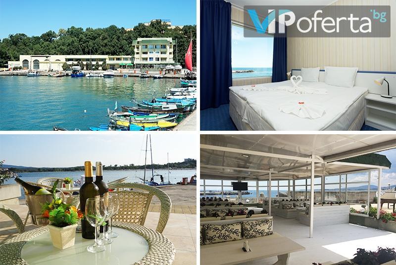 Пакети на база ALL Inclusive Light + чадър и шезлонг на плажа в Хотел Марина***, Китен