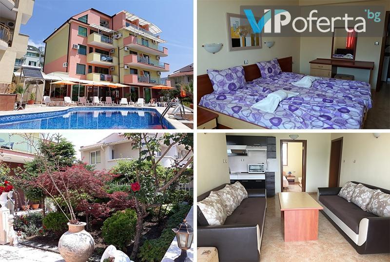 Петдневни пакети за помещение + ползване на басейн в Хотел Ралица, Влас