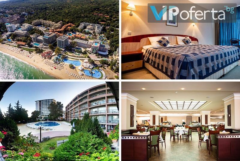 Пакети със закуска, закуска и вечеря или All Inclusive + ползване на басейн в Хотел Лилия****, Златни Пясъци