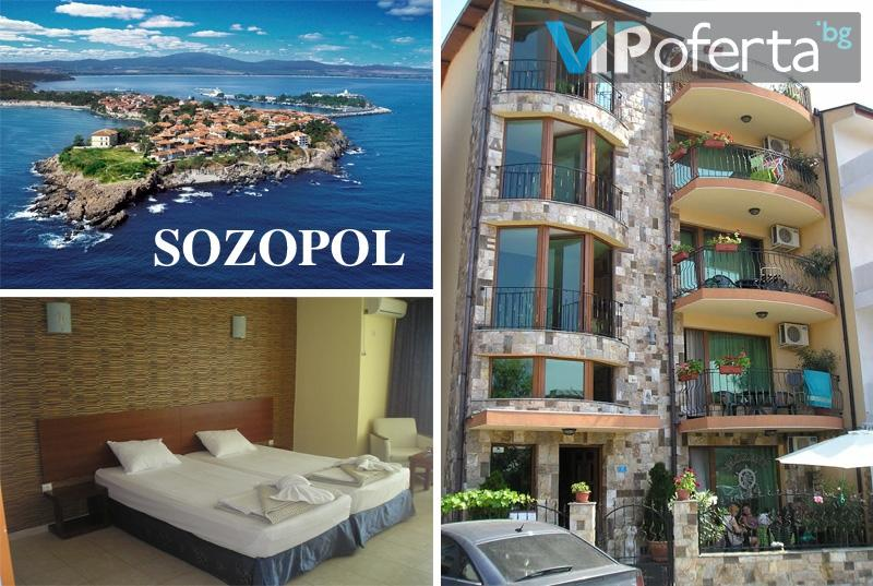 50% намаление на пакети за двама в къща за гости МОРЕНО - Созопол