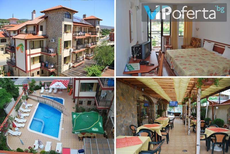 Еднодневен пакет на база All Inclusive + ползване на басейн в Хотел Бреза***, Слънчев бряг