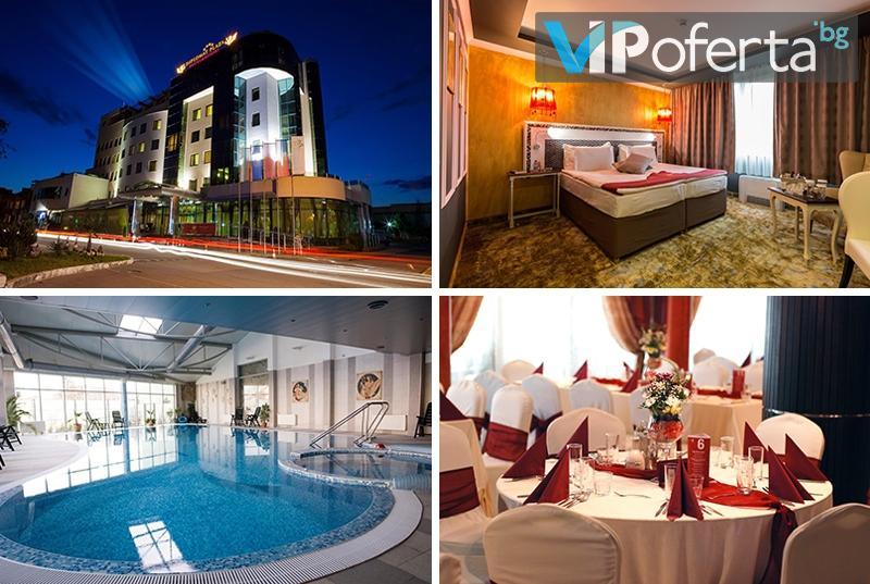 Еднодневен пакет със закуска, обяд и BBQ вечеря + ползване на СПА в DIPLOMAT PLAZA Hotel & Resort****