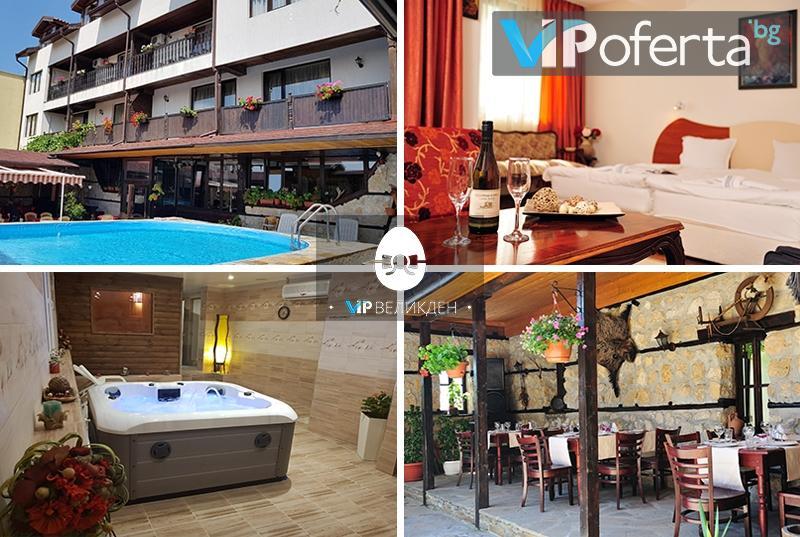 Пакети със закуски и вечери + Празничен обяд в хотел Ловна среща, край Слънчев бряг
