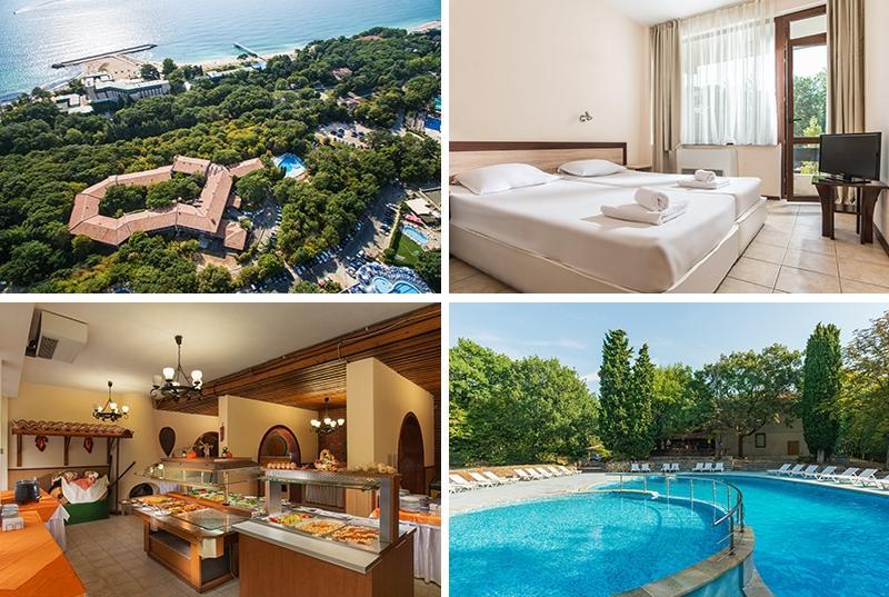 Еднодневен пакет със закуска + ползване на басейн в Хотел Преслав, Златни пясъци